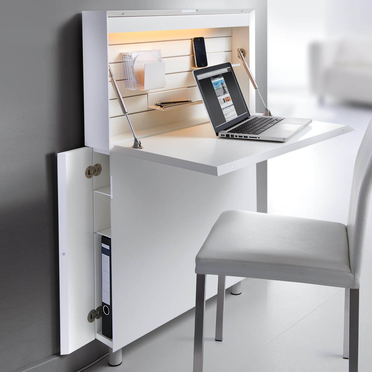 ultraflacher sekret r 3 jahre garantie pro idee. Black Bedroom Furniture Sets. Home Design Ideas