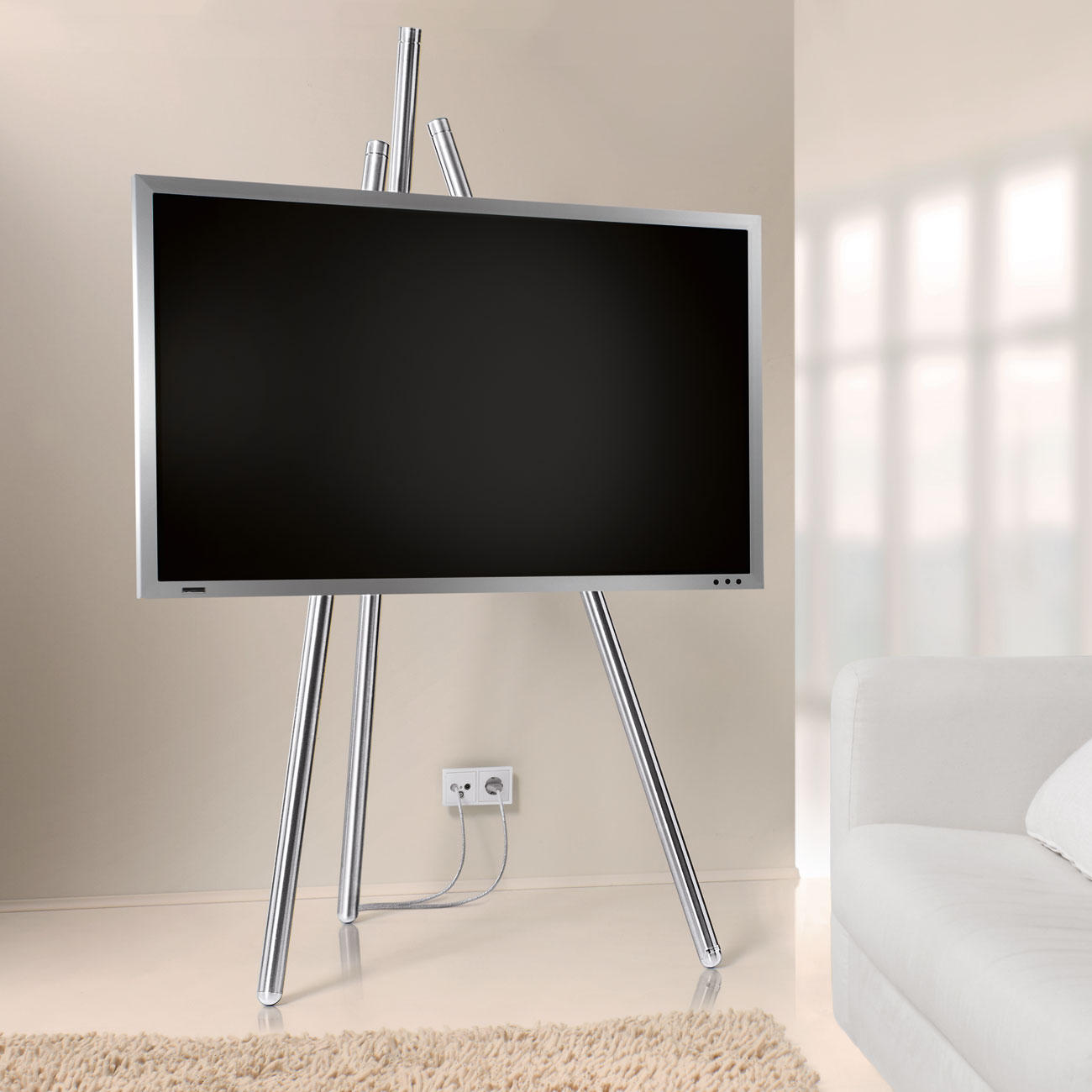 flat tv staffelei 3 jahre garantie pro idee. Black Bedroom Furniture Sets. Home Design Ideas