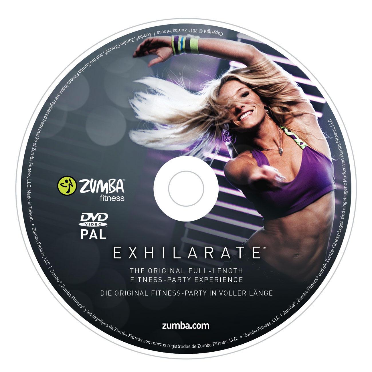 Zumba  174  Fitness Exhilarate    DVD-ProgrammZumba Fitness Exhilarate Dvd