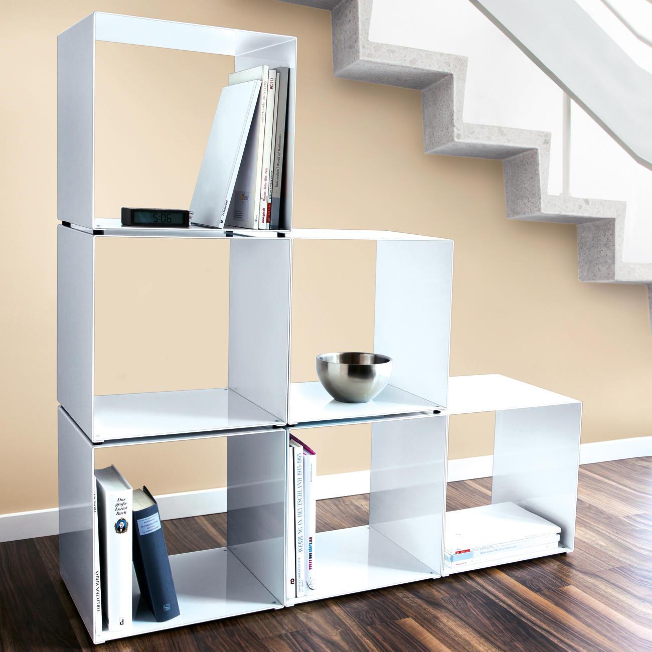 jan kurtz metall cubus w rfel wei online kaufen. Black Bedroom Furniture Sets. Home Design Ideas