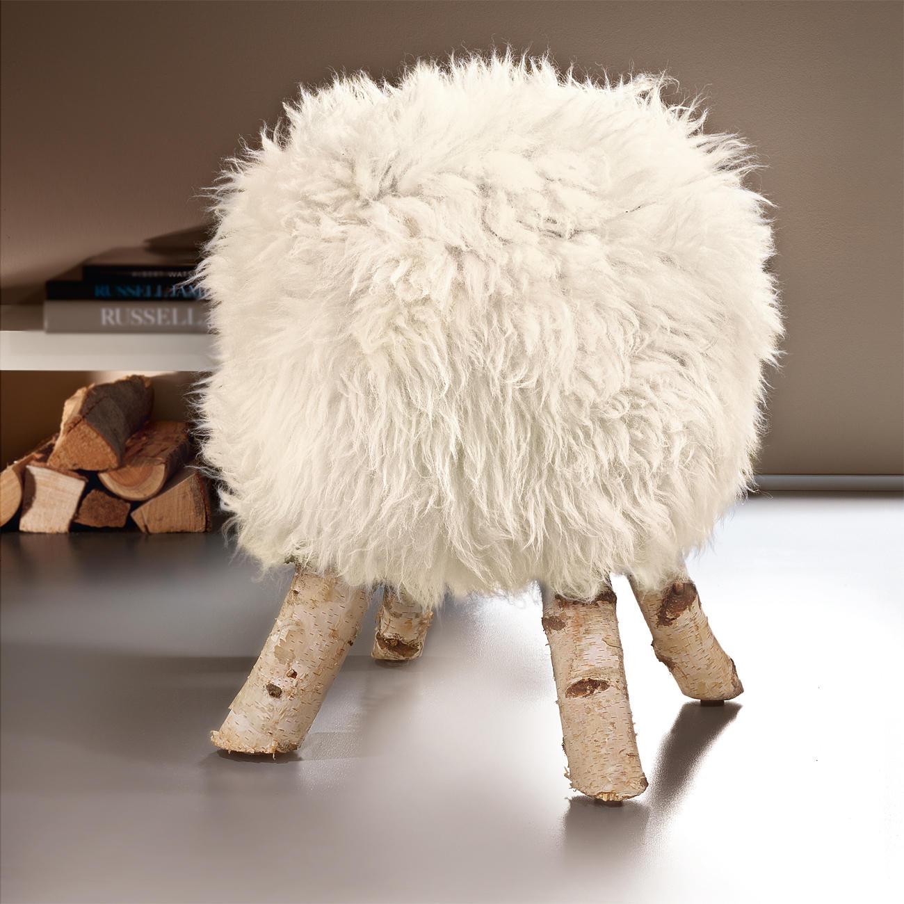 lammfell hocker 3 jahre garantie pro idee. Black Bedroom Furniture Sets. Home Design Ideas