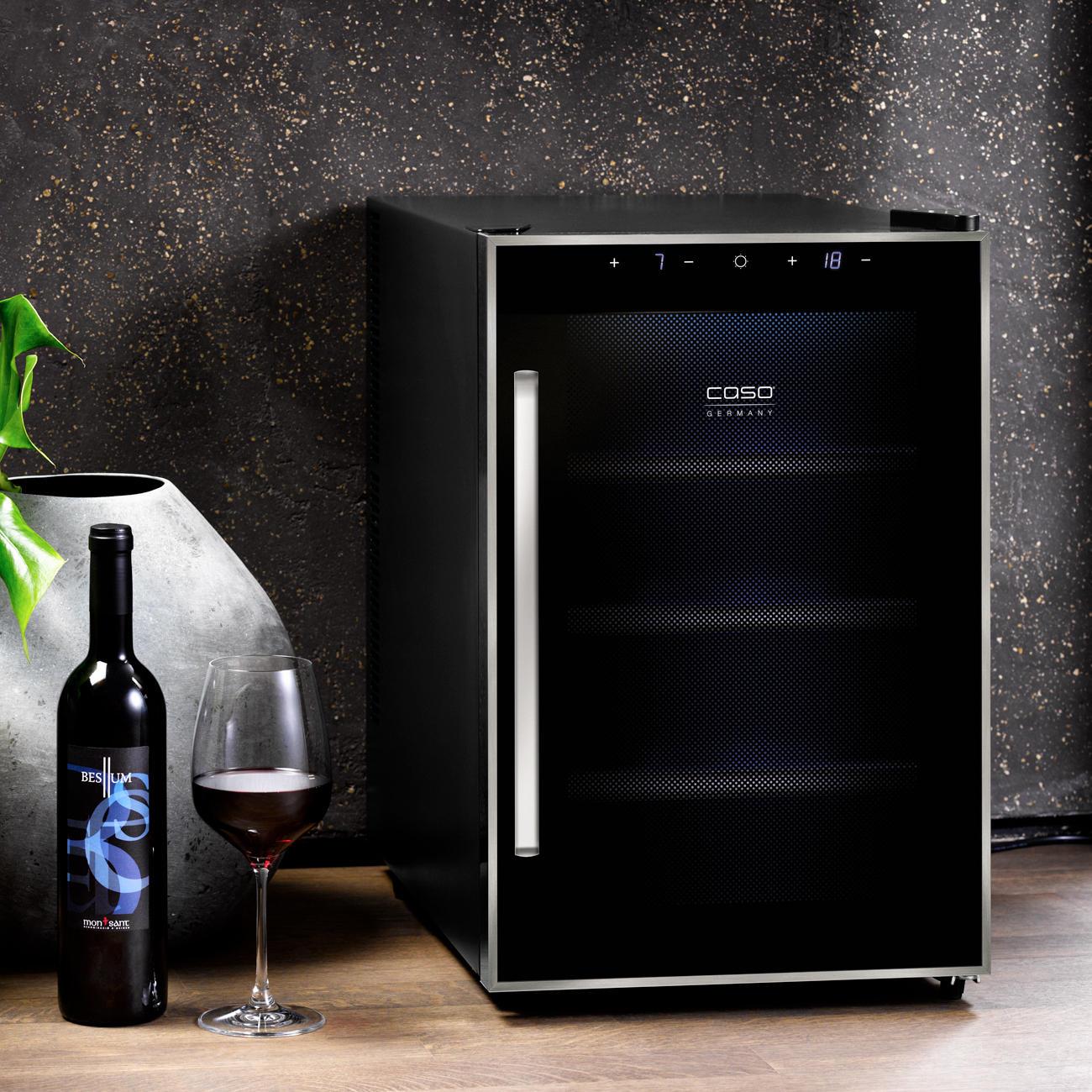 kompakt weink hlschrank case oder duo weine kaufen. Black Bedroom Furniture Sets. Home Design Ideas