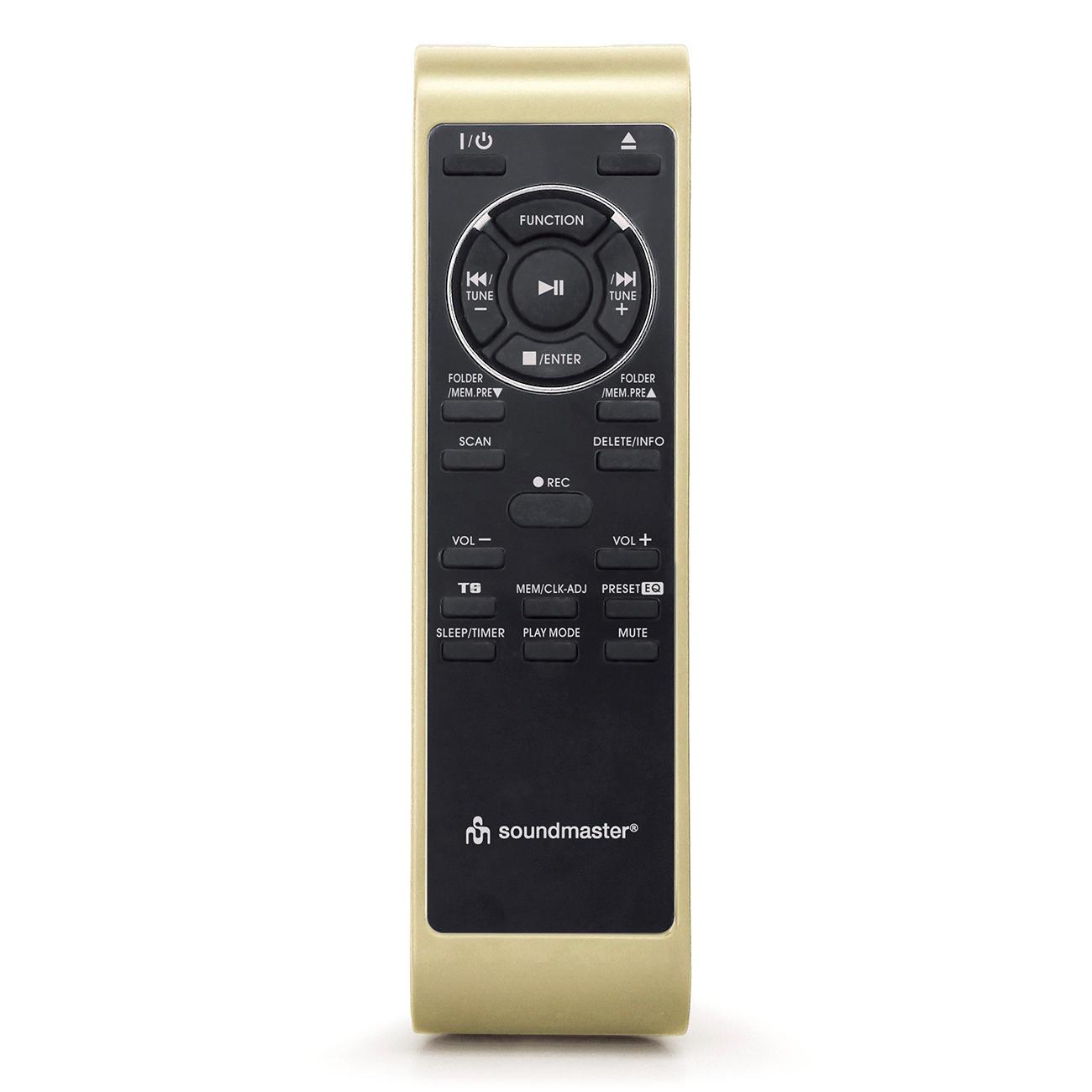soundmaster nostalgie stereo musikcenter mit bluetooth. Black Bedroom Furniture Sets. Home Design Ideas