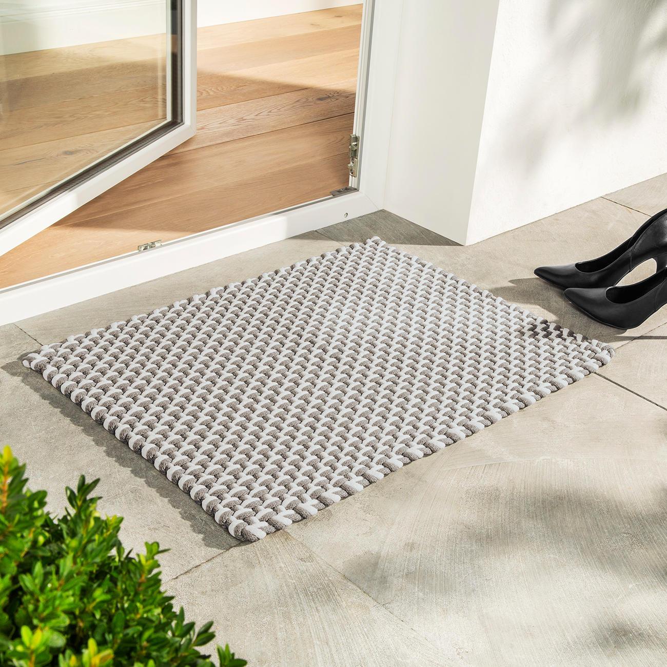 pad home design pool outdoor teppich 52 x 72 cm beige wei. Black Bedroom Furniture Sets. Home Design Ideas