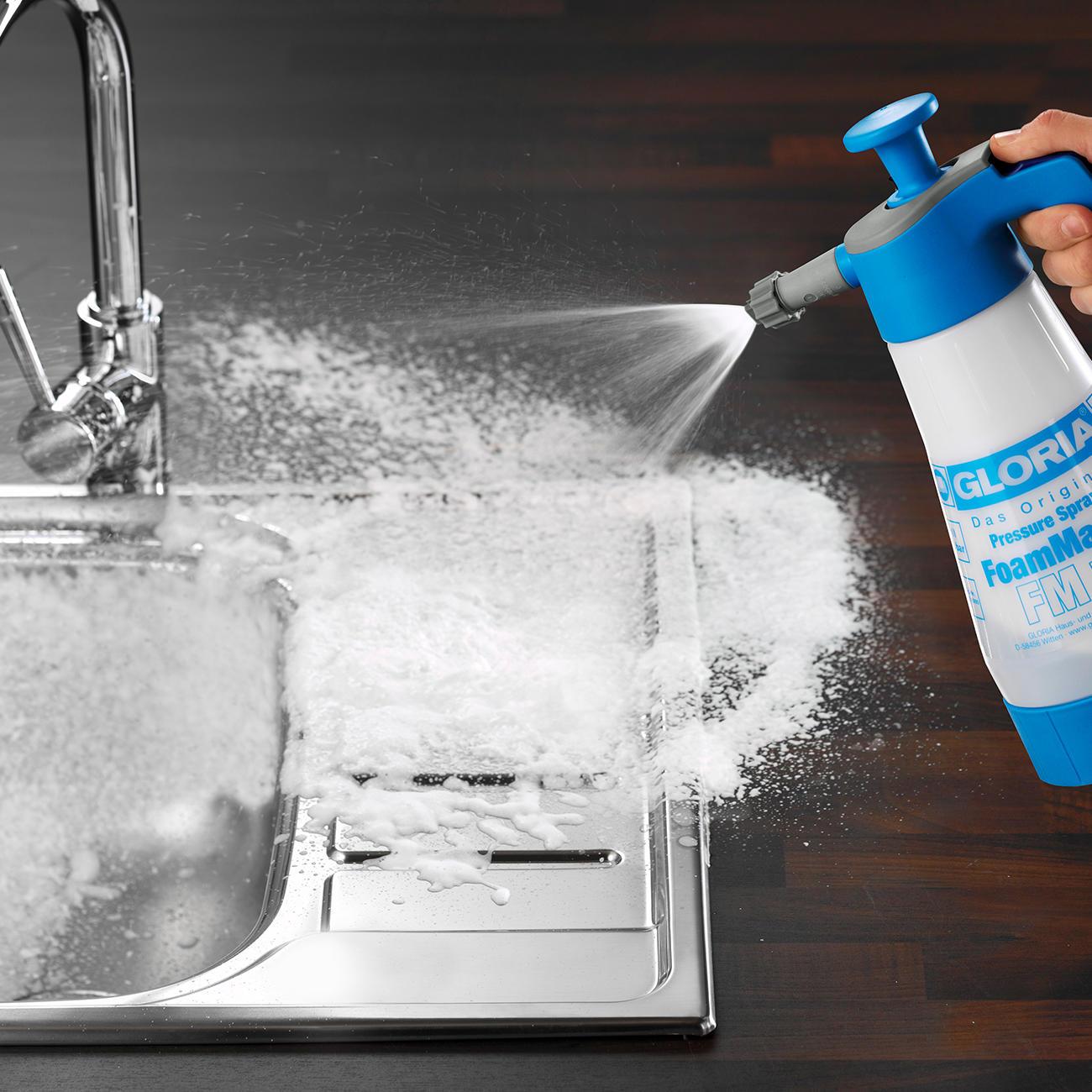 Gloriar foammaster 3 jahre garantie pro idee for Pro idee küche