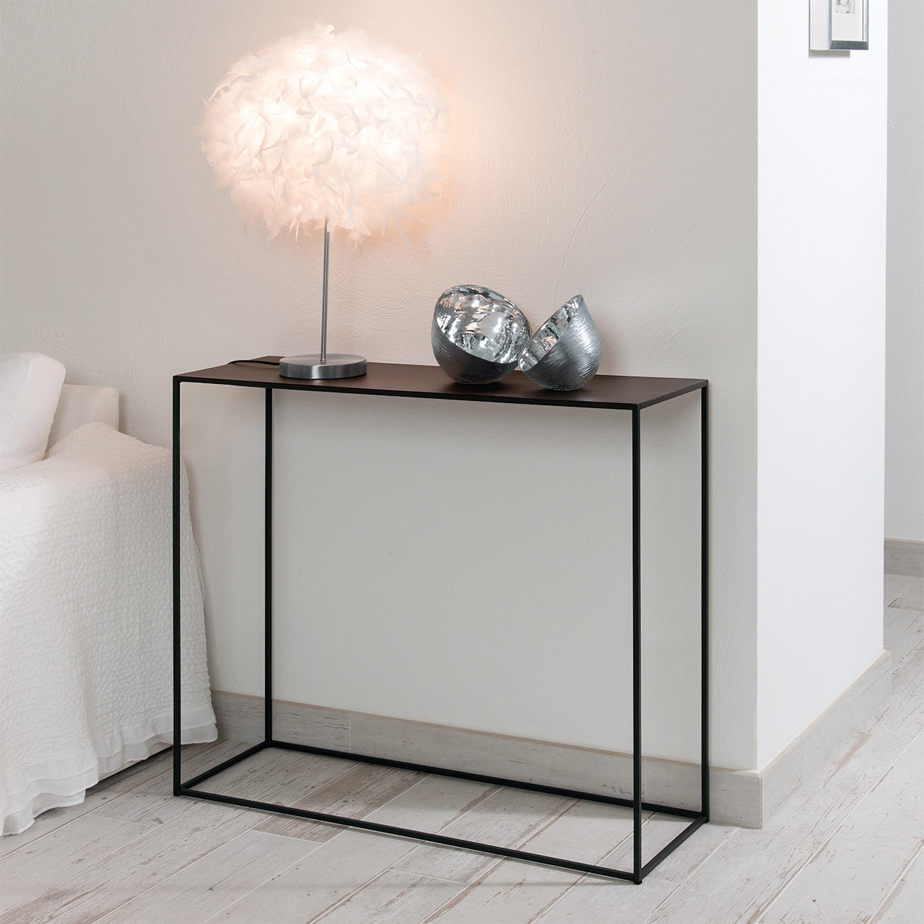 gr nberger wohnmanufaktur wmg couchtisch beistelltisch lima metall 50 x 50 x 50 cm. Black Bedroom Furniture Sets. Home Design Ideas
