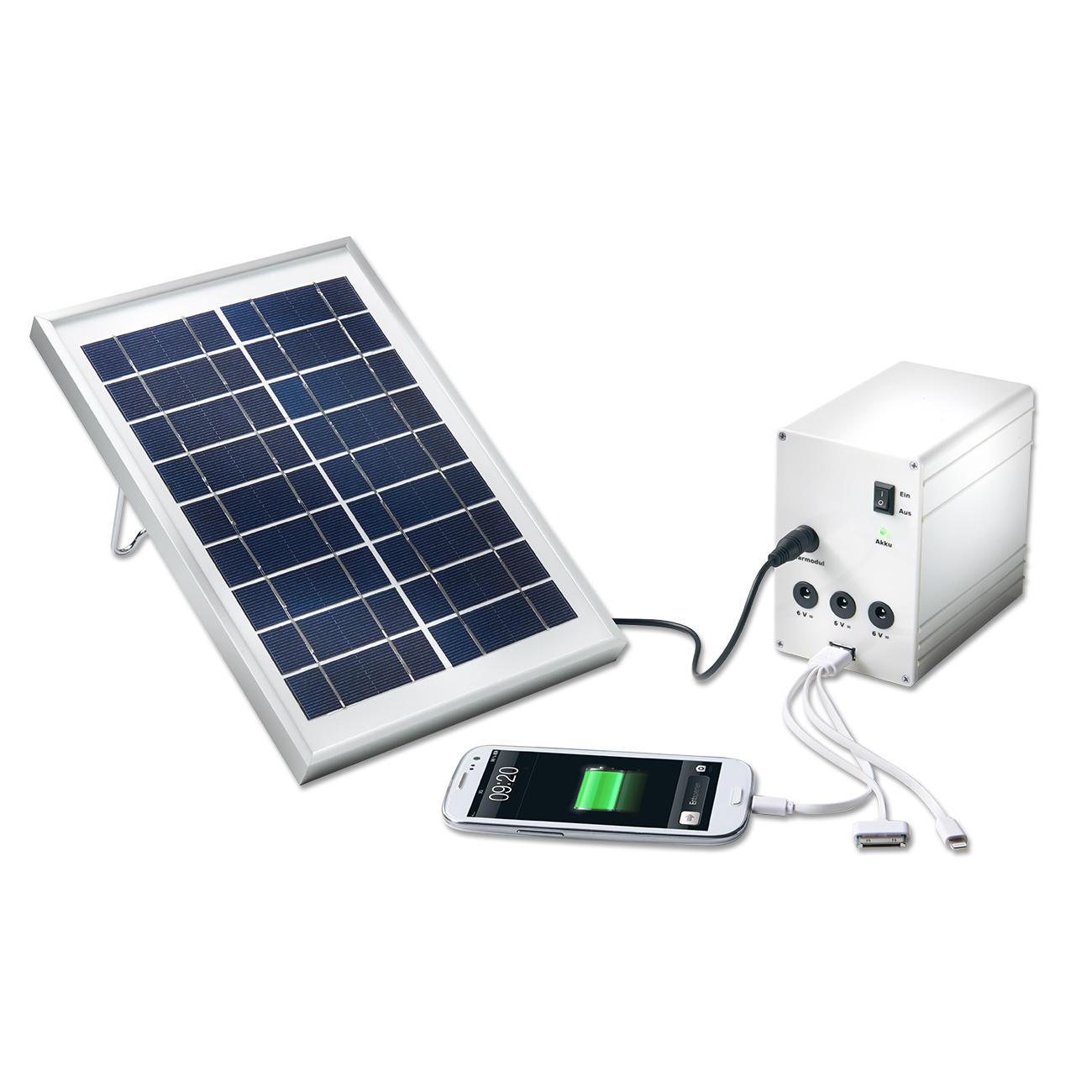 Esotec solar licht und ladesystem multi power solar for Solar licht
