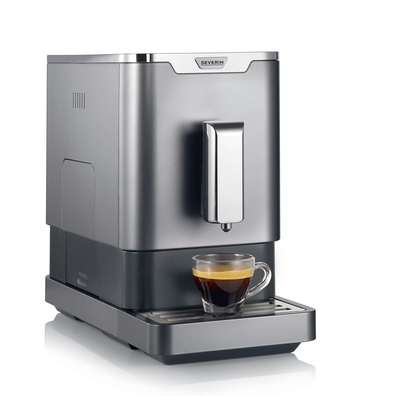 severin kaffeevollautomat kv 8090 grau schwarz kaufen. Black Bedroom Furniture Sets. Home Design Ideas