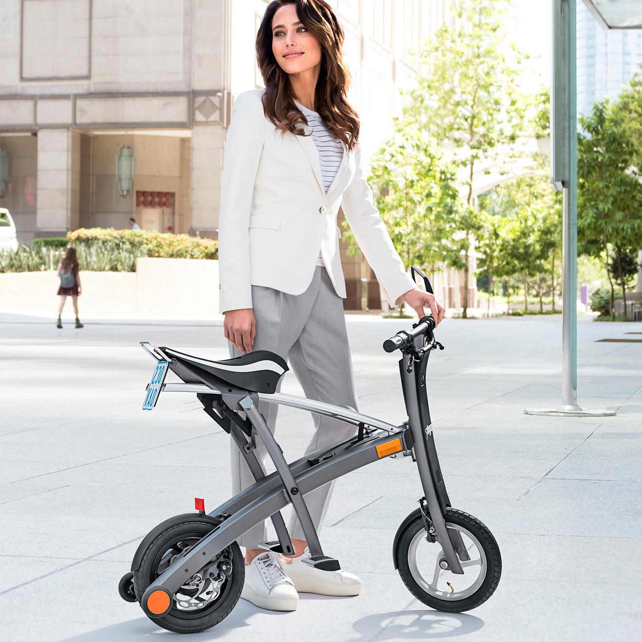 stigo bike 200 w e scooter schwarz silber online kaufen. Black Bedroom Furniture Sets. Home Design Ideas