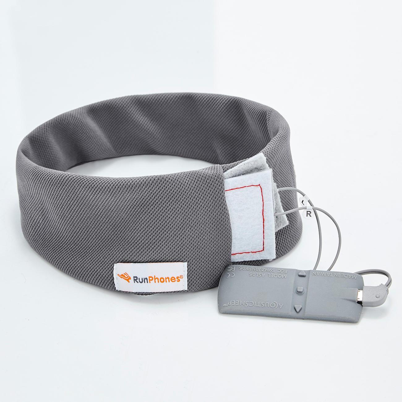 runphones stirnband mit bluetooth integriertem kopfh rer. Black Bedroom Furniture Sets. Home Design Ideas