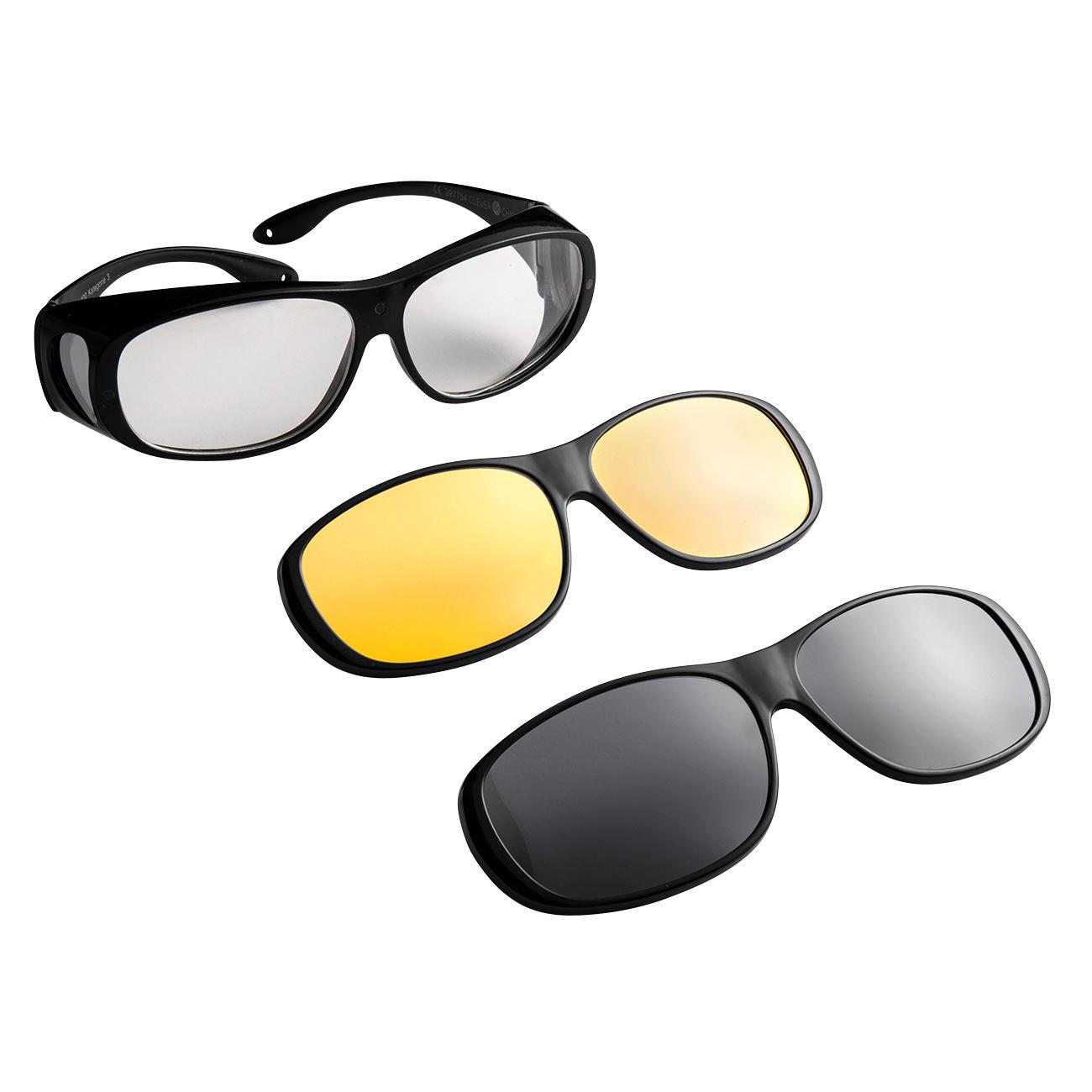 berziehbrille wechselgl ser sonnen berbrille nachtsicht berbrille magnetisch polarisiert. Black Bedroom Furniture Sets. Home Design Ideas