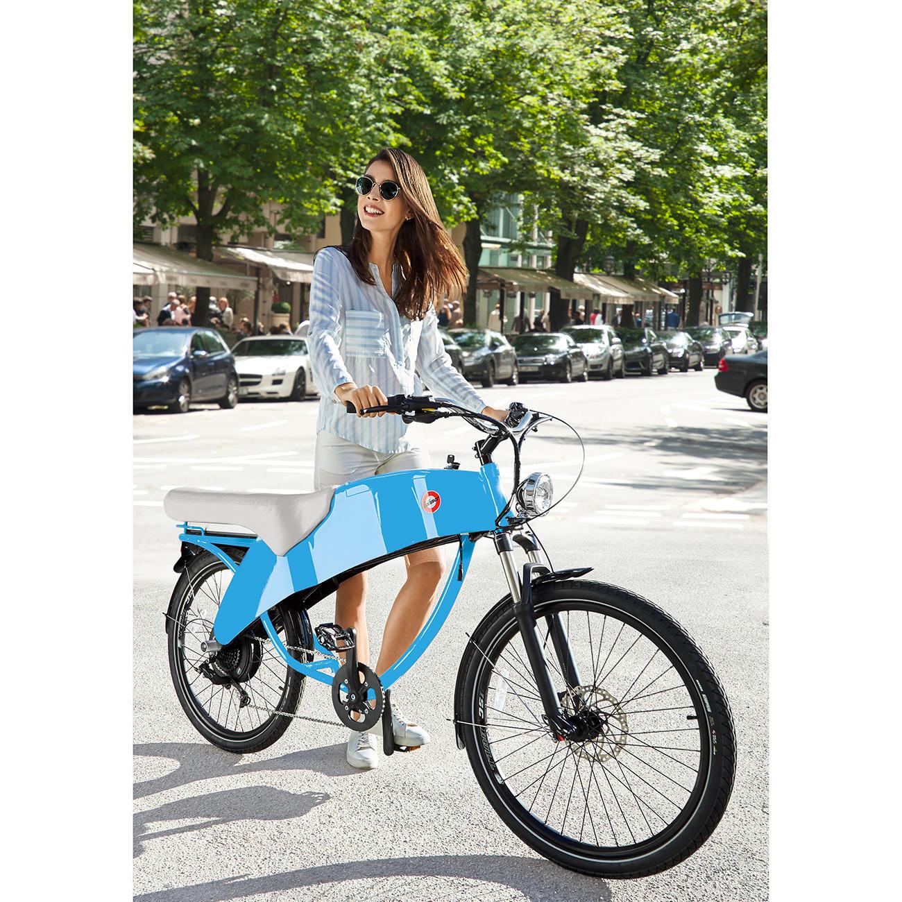 lowest discount detailed pictures amazing selection Stroler 2-Personen-E-Bike, blau, Elektrofahrrad, Pedelec ...