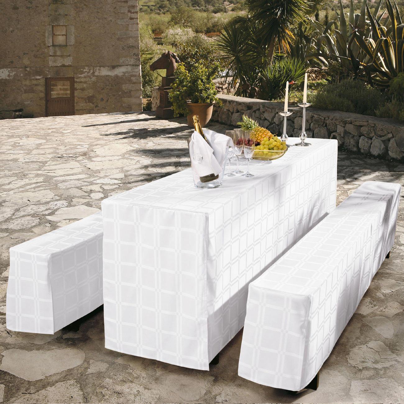 fleckabweisende tischw sche mit 3 jahren garantie. Black Bedroom Furniture Sets. Home Design Ideas