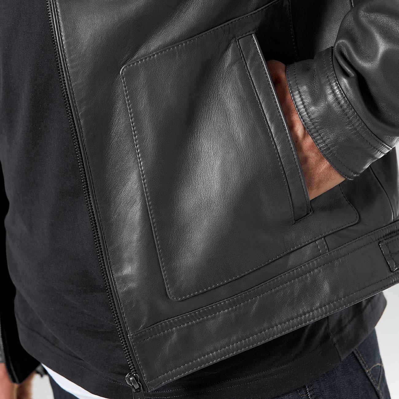 gut aussehend verschiedene Farben 100% Qualitätsgarantie Lagerfeld Lederjacke | Mode-Klassiker entdecken