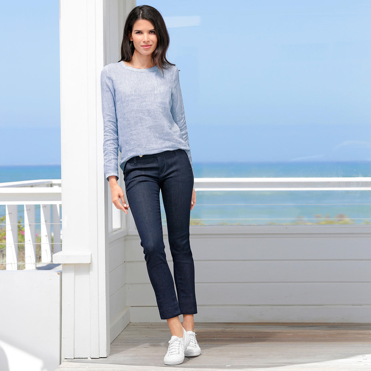 true nyc blusen shirt oder stretch jeans raw denim. Black Bedroom Furniture Sets. Home Design Ideas