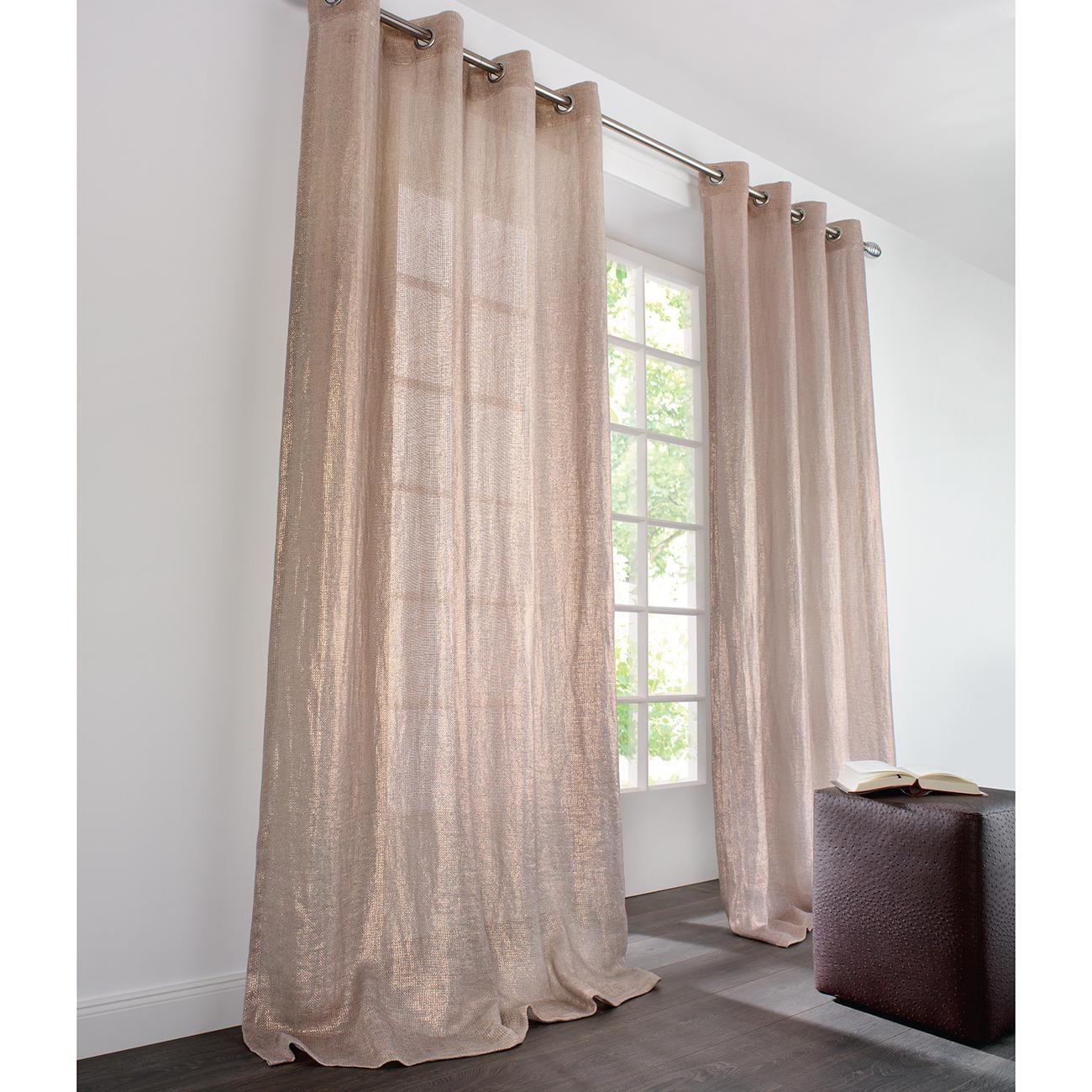 gardinen ideen leinen pauwnieuws. Black Bedroom Furniture Sets. Home Design Ideas