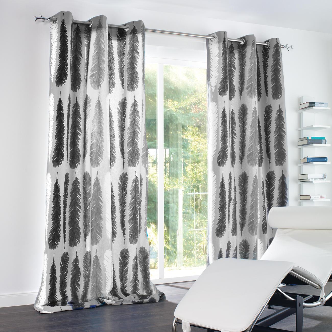 vorhang feather 1 st ck vorh nge kaufen das. Black Bedroom Furniture Sets. Home Design Ideas