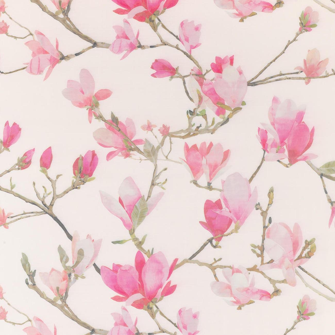 vorhang magnolia creme rosa 1 st ck vorhang kaufen. Black Bedroom Furniture Sets. Home Design Ideas