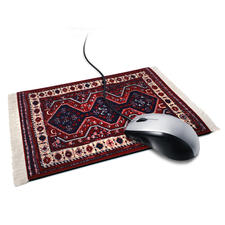 """Mousepad """"Sigmund Freuds Teppich"""" - Sigmund Freuds berühmter Couch-Teppich: der wohl außergewöhnlichste Arbeitsplatz für Ihre Computer-Mouse."""