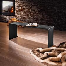 Wärmebank - Elegante Sitzbank für drinnen und draußen. Auf Wunsch sogar beheizt.