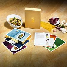 """""""Nimm 3"""" Gourmet-Rezeptkarten - Preisgekrönt: Gourmet-Rezepte mit nur 3 frischen Zutaten.Von Spitzenköchen kreiert – schnell & einfach gekocht."""