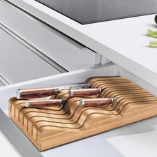 Robert Welch® Messerablage - Verwahrt bis zu 20 (!) Messer verschiedenster Form und Größe (statt oft nur 5-6).