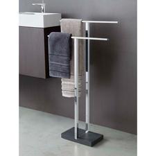 Polystone Handtuchhalter oder Polystone WC-Butler - Prämiertes Design. Durchdachte Funktion. Von blomus®.