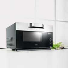 Design-Inverter-Mikrowelle IMG 25 - Sanfter Auftauen und Garen. Perfekt auch für Steaks, Koteletts, … & zum Überbacken und Gratinieren.
