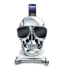 """AeroSkull HD+ - Das """"AeroSkull HD+""""-Audiosystem – entwickelt unter der Leitung von Starmusiker Jean Michel Jarre. High-End-Speaker und Kultobjekt zugleich."""