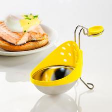 Eier-Pochierer, 2er-Set - Einfach wie nie: Pochierte Eier, perfekt gelungen. Höhenverstellbar, je nach Topfgröße und Wasserstand.