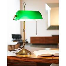 Messing Banker's Lamp - Die leuchtende Legende der Wallstreet.