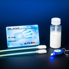 kDNA-Markierungs-Set - Eigentumsschutz neuester Stand. Künstliche DNA markiert und identifiziert Ihre Wertsachen zweifelsfrei.