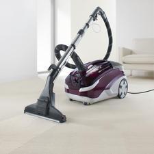 Aqua+ MultiClean X8 Parquet - Saugt, wäscht und trocknet. In einem Arbeitsgang. Für Hart- und Teppichböden. Und sogar für Parkett.