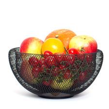 Luftige Obstschale - Trendiges Design hält Ihr Obst, Ihr Gemüse luftig und länger frisch.