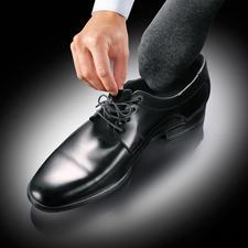 Stretch-Schnürsenkel, 6 Paar - Ruck-zuck: Schnürschuhe an und aus. So bequem wie Slipper.
