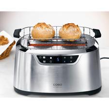 Dank des breiten Korbaufsatzes auch für große Brötchen, Brezeln, Croissants,… geeignet.