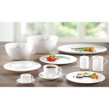 """Bone China Geschirr """"À-Table"""" - Decken Sie Ihren Tisch mit dem Porzellan der SWISS Air First Class."""