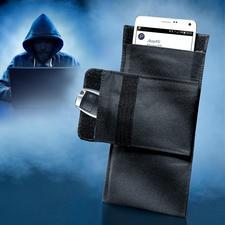 Smartphone-Abschirmtasche - Handy und Autoschlüssel: sicher wie 10 m dicker Stahlbeton.