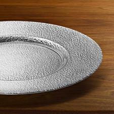 Jeder Teller handgefertigt – einzigartig in Struktur und Metallic-Effekt.