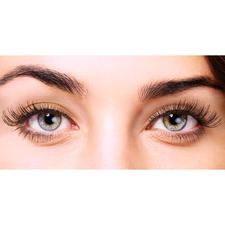 """Echthaar-Wimpern """"Natural Look"""" - Weltneuheit: Echthaar-Wimpern jetzt auch in Braun und Blond. Nie sahen Fake Lashes so natürlich aus."""
