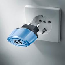 Antimilben-Stecker - Eliminiert die Allergie-Erreger durch Ultraschall. Sauber, sicher und selbsttätig.