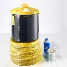 60-l-Tonne mit Kunststoffdeckel