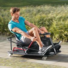 CrazyCart XL - Heiße Drifts und spektakuläre 360°-Drehungen in voller Fahrt. Mit dem sensationellen CrazyCart.