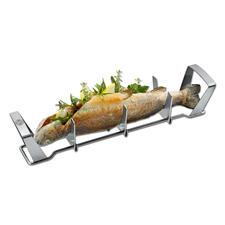 Gefu® Fischgriller - Saftig gegrillter Fisch – einfach wie nie. Kein kniffliges Wenden, kein Verbrennen.