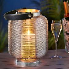 Glaslose Lampionlaterne - Seltenheit: Die Laterne, die ohne Glas auskommt. Und ohne die Gefahr von Glasbruch.