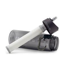 Eine Hohlfaser-Membran filtert Schmutzpartikel, Trübstoffe, 99,9 % Protozoen (Einzeller) und 99,9999 % der Bakterien aus dem Wasser.