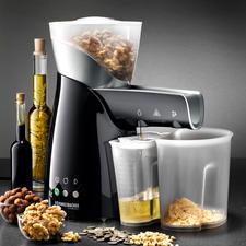 Elektrische Ölpresse - Ihr wertvollstes Speiseöl ist hausgemacht. Im schonenden Kaltpress-Verfahren. Aus besten Rohstoffen Ihrer Wahl.
