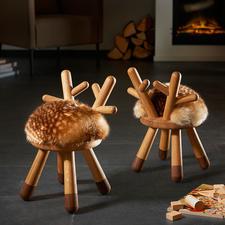 Bambi Chair - Bezaubernd für Groß und Klein: der außergewöhnliche Hocker im Bambi-Style.