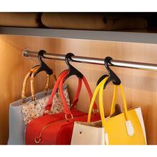 """Handtaschenbügel """"Black Swan"""", 3er-Set - Standesgemäße Aufbewahrung für Ihre Lieblingstaschen."""