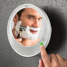 Antifog-Bluetooth-Spiegel - Musik hören, telefonieren, rasieren – mit Ihrem neuen Antifog-Spiegel.